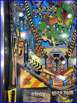 Road Show Pinball Machine Williams ColorDMD Arcade 1993 Free Shipping LEDs