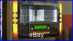 Rockola R-91 Classic 100cd Wurlitzer tabletop repro jukebox with select wall box
