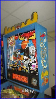 Rocky & Bullwinkle Pinball Arcade Machine Data East. LED Bulbs Kit. Free Ship