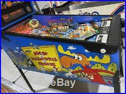 Rocky & Bullwinkle Pinball Machine By Data East Free Ship LEDs