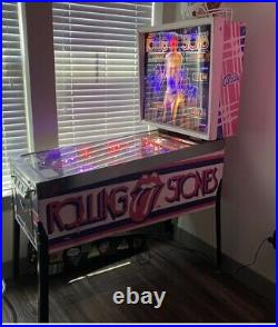 Rolling Stones 1979 Bally Pinball Fully Restored. PRICE REDUCTION SHIPS FREE