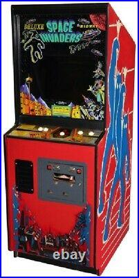 SPACE INVADERS DELUXE ARCADE MACHINE by MIDWAY (Excellent Condition) RARE