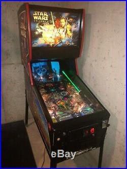 STAR WARS EPISODE 1 Pinball Machine Williams 1999 Pinball 2000