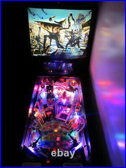 STARSHIP TROOPERS Arcade Pinball Machine SEGA 1997 (Custom LED Excellent)
