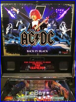 STERN AC/DC Back In Black LE PINBALL MACHINE! 286/300