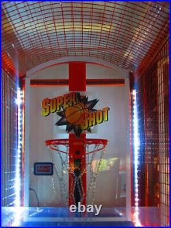 SUPER SHOT BASKETBALL ARCADE MACHINE by SKEEBALL (Excellent Condition) RARE