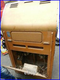 Seeburg R 100 jukebox 45 RPM selections project box for restoration non working