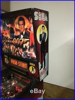 Sega Goldeneye Vintage Pinball Machine Fully Working Condition California