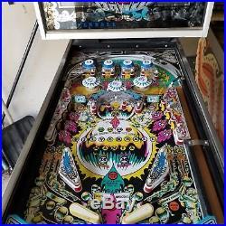 Silverball mania pinball machine