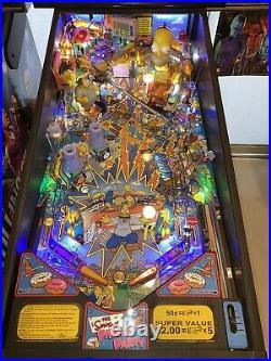 Simpsons Pinball Party Machine Stern Pinball Machine LEDs Free Shipping
