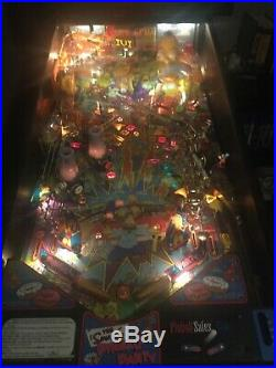 Simpsons Pinball Party Pinball Machine, Single Private Owner