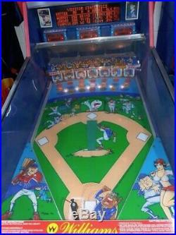 Slug Fest Pitch and Bat pinball machine from Williams