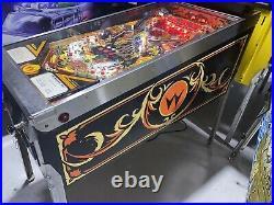Sorcerer Pinball Machine Williams Arcade LEDs Free Ship