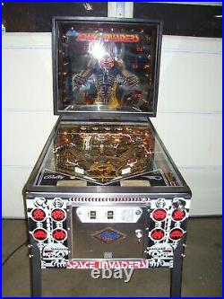 Space Invaders Pinball Machine By Bally
