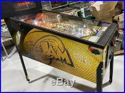Space Jam Pinball Machine Sega Michael Jordan Basketball Looney Tunes Free Ship