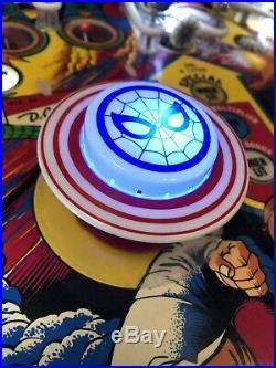 Spiderman Wide Body Pinball Machine