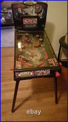 Spiderman the revenge of the green goblin pinball machine 2001 marvel RARE legs