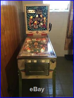 Spin-A-Card Pinball Machine (Gottlieb) 1969