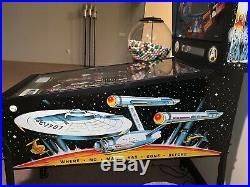 Star Trek Data East Pinball Machine