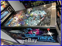 Star Trek Next Generation Pinball Machine by Williams LEDs ColorDMD Free Ship