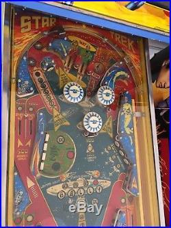 Star Trek Pinball Machine