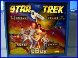 Star Trek Pinball Machine By Bally