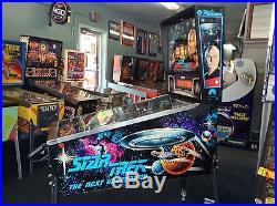 Star Trek The Next Generation Pinball Machine by Williams-FREE SHIPPING