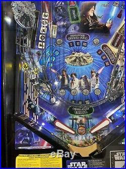 Star Wars Limited Edition #758 Of 800 Pinball Machine Free Shipping Stern