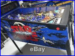Star Wars Pinball Machine By Data East Coin Op LED Home Use Only Free Shipping