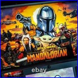 Star Wars The Mandalorian Pro Pinball by Stern -Free Shipping