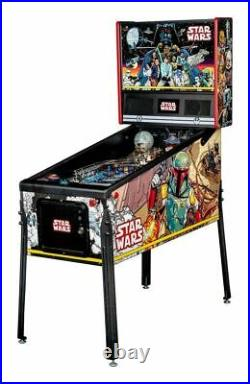 Star Wars home PIN Comic Art Pinball by Stern -Free Shipping