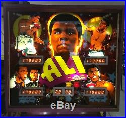 Stern 1980 Muhammad Ali Pinball Machine The Greatest Of All Time Rare Pin