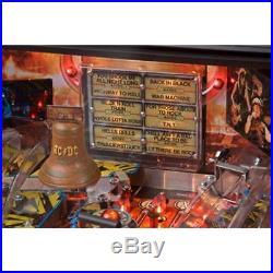 Stern AC/DC Vault Pro Model Pinball Machine