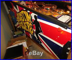 Stern Austin Powers Pinball Machine Complete working in Nice condtion one owner