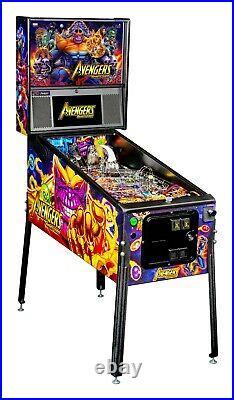 Stern Avengers Infinity Quest Premium Pinball Machine Free Shipping