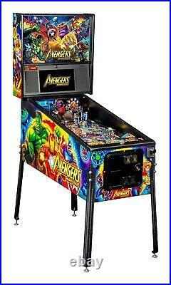 Stern Avengers Infinity Quest Pro Pinball Machine Free Shipping