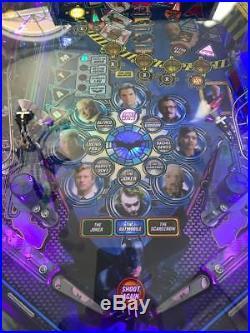 Stern BATMAN Pinball Machine Mfg 2009