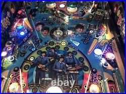 Stern Beatles Gold Pinball Machine From A Stern Dealer