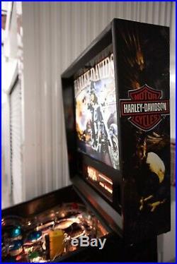 Stern Harley Davidson Pinball 1st Edition
