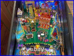 Stern High Roller Casino Pinball Machine Roulette Gambling Leds Slots