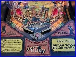 Stern Indiana Jones Pinball Machine 2008 Collectors Beautiful Quality Protector