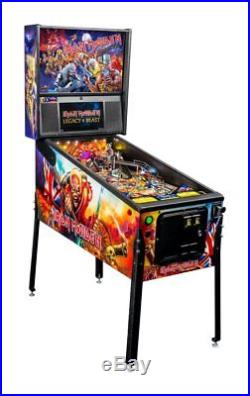 Stern Iron Maiden Pinball Machine Limited Edition SOLD OUT