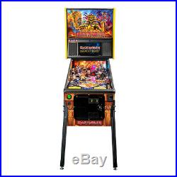 Stern Iron Maiden Premium Pinball Machine w Shaker Motor