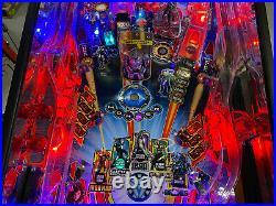 Stern Iron Man Pinball Machine Topper Color DMD Gorgeous