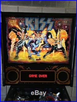 Stern KISS Pinball Machine Pro Edition 100% Working