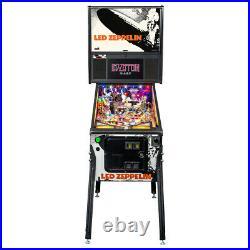 Stern Led Zeppelin Premium Pinball Machine with Installed Shaker Motor