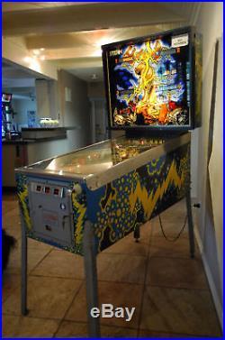 Stern Lightning Pinball Classic 1984