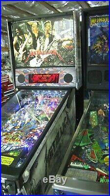 Stern Metallica suite case premium edition pinball machine HUO collector qual
