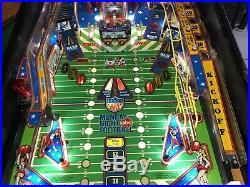 Stern Monday Night Football Pinball Machine 1989