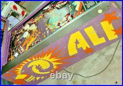 Stern Pinball Machine Ali Mancave Arcade Room Free Shipping